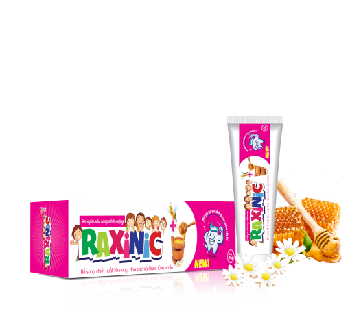 Gel ngừa sâu răng nhiệt miệng Raxinic+