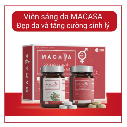 Hình ảnh sản phẩm Viên sáng da MACASA