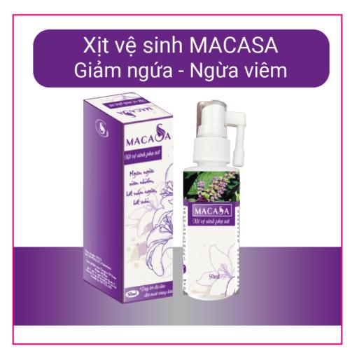 Hình ảnh sản phẩm Xịt vệ sinh MACASA